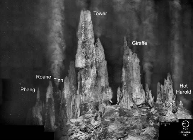 Photomosaic of Faulty Towers at Mothra (1997)