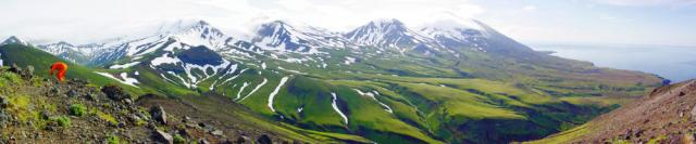 Volcanic Mountains of Northern Atka Island, Aleutian Islands (2004)