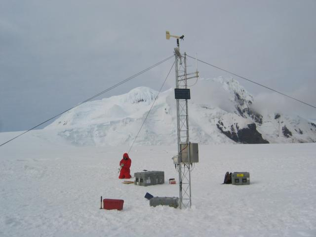 Weather station on Peter I. Island (2006)