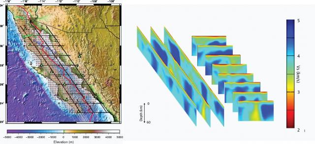 RCL Gulf of California receiver function model (2008)