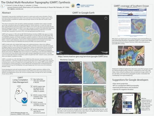 GMRT poster from Google Earth Workshop (2008)
