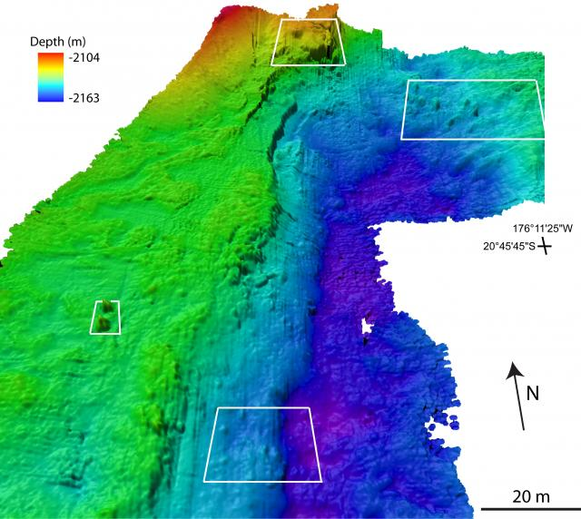 Ultra-high resolution map of ABE Vent Field (N) (2008)