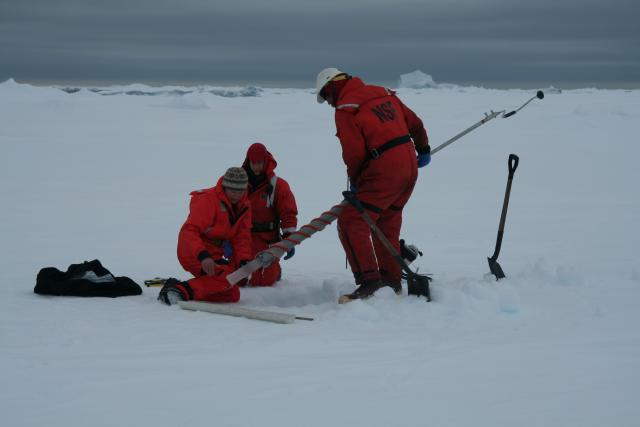 Working on sea ice (2009)