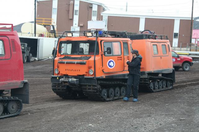Pisten Bully in McMurdo (2010)